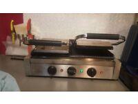 Horeca Commercial panini machine 3 phase