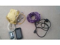 Bag of electrical cables inc hdmi