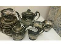 Vintage moriage coffee /tea 20 Piece Set