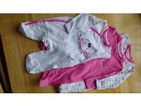 3 sleepsuits - 0-3 monts - used - CoolClub