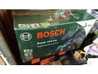 New Bosch Electric Lawnmower