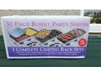 BRAND NEW 30 Piece Buffet Party Catering Server