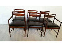 Set of Six McIntoch Mahogany Dining Chairs