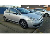 Citroen C4 Coupe 1.4i, 45600 miles! Cheap runner