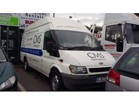 Ford Transit Jumbo 125 T350, White, 2003, 12 months MOT, 6 months tax, good condition