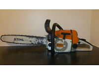 "stihl 026 chainsaw 18"" bar and chain"
