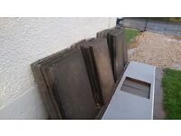 Concrete slabs for footpath, paving or driveway