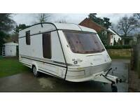 ELDDIS 2 BERTH L SHAPE WITH FULL AWNING IN VERY GOOD CONDITION VERY CLEAN