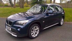 2009/59 BMW X1 20d XDRIVE SUV 2.0 DIESEL, FULL HISTORY FULL MOT px X3 KUGA QASHQAI 320d 120d 118d