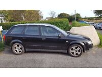 Audi A4 Avant (EstATE) 1.9 TDI 2004 Black Needs work/spares and repairs £600 ono