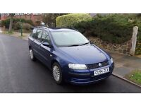 Fiat Stilo (54 Plate), 2004, Excellent Runner, Fresh MOT Available upon Request