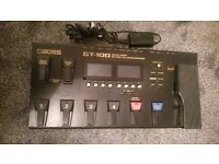 Boss GT 100 multi effects processor, excellent condition. Reduced price
