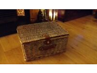 Wicker hamper free for collection