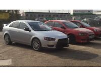 Mitsubishi Lancer low mileage not evo