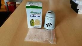 Himalayan Salt Pipe Inhaler with Pink Salt