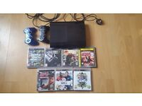 Ps3 12gb 2 controllers and 7 games