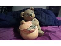 lovely teddy bare cookie jar OR BEST OFFER