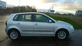 VW POLO SE ,1.4 TDI, 2008 ,5DR ,SILVER,LOWCOST FUEL,,