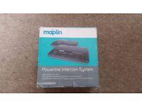 Maplin Powerline Intercom System