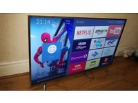 BRAND NEW BOXED HISENSE 45-inch SUPER Smart 4K ACTIVE HDR UHD LED TV-45N5740,built in Wifi,Freeview