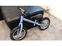 Balance bike blue - brand new