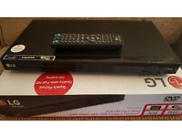 Lg dvd player with full hd upscaling