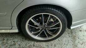 "Lenso 18"" alloy wheels 5 stud"