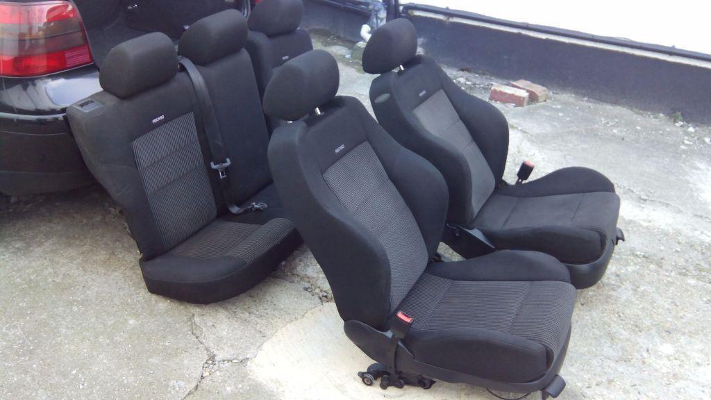 Vw golf mk4 gti recaro seats 5 doors in dollis hill for Salon recaro golf 4