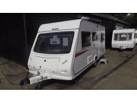 R&K CARAVANS 2010 ELDDIS XPLORE 495 5 BERTH WITH M/MOVER, 12 MONTH WARRANTY SUBJECT TO CONDITIONS