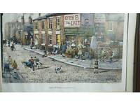 Vintage Open all hours limited edition print by Bernard McMullen