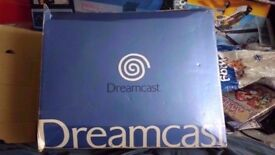 boxed dreamcast console