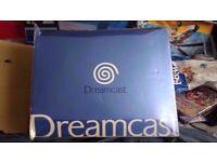 boxed dreamcast console
