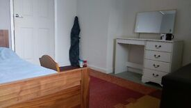 large double room in quiet flat