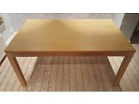 Wooden dining room table for sale in Bishopbriggs