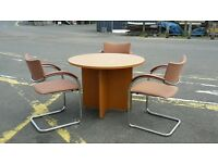 lovely meeting/conference table and chairs