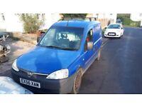 Vauxhall, COMBO Van, 2006, Manual, 1248 (cc) EXCHANGE/ or PART EXCHANGE for SWB VAN