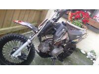 110cc stomp pitbike