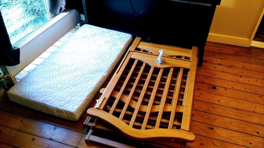 Toys R Us Cot Bed + Mattress