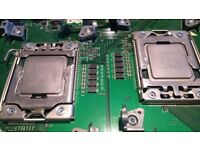Xeon hexacore CPU 2xX5660/2.8GHz & 2xX5690/3.46GHz 6-core processors pair LGA1366 12 core 24 threads