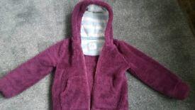 Gorgeous fluffy Mini Boden jacket age 5 to 6