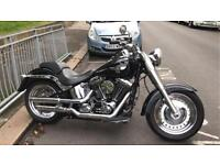 Harley Davidson fatboy black 103 engine £11995