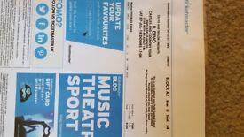 Il Divo Tickets x 2 Reading 7th July