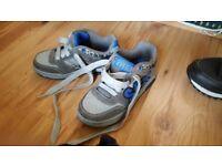 Boys shoes..brand new unworn skx size 12.5 skechers .and size 13 a little worn black skechers