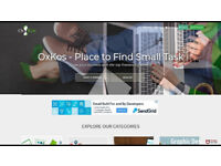 OxKos - Place to Find Small Task - Want to build better websites