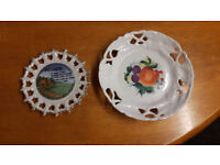 Two Small Wall Plates