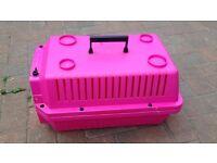 Cat / Rabbit carrier crate small pet