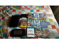 Nintendo wii u +10 games and accessories