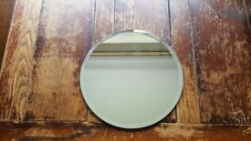 6 x mirror plates 10 inches