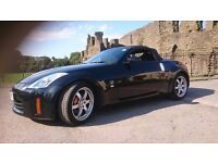Nissan 350z gt convertible 38k fsh new roof