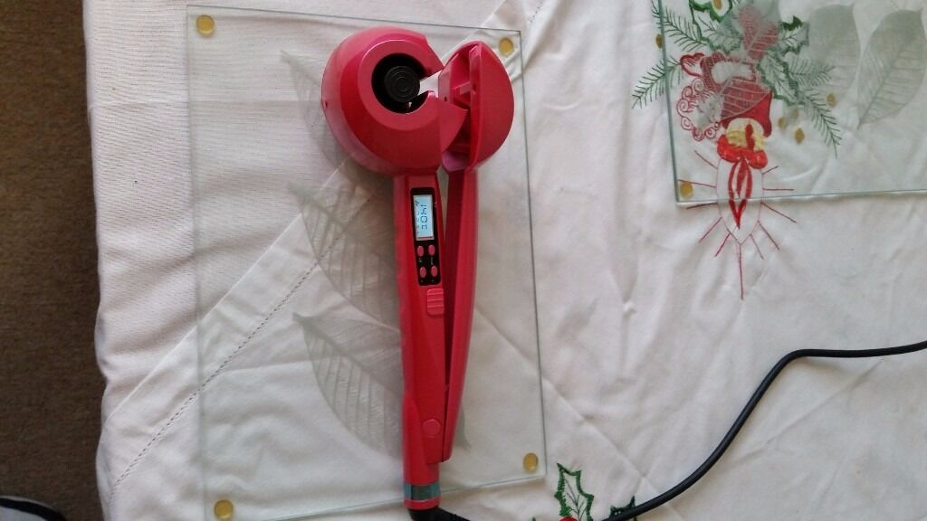 ladies hair curling machine